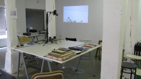 Workshop at Bulegoa Z/B: The form that mimics its own subject, Bilbao May 2013